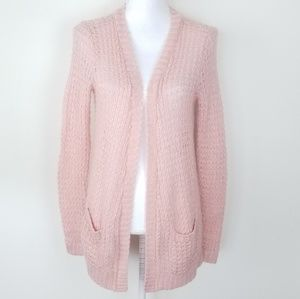 Mossimo blush pink cardigan Size S long sleeve